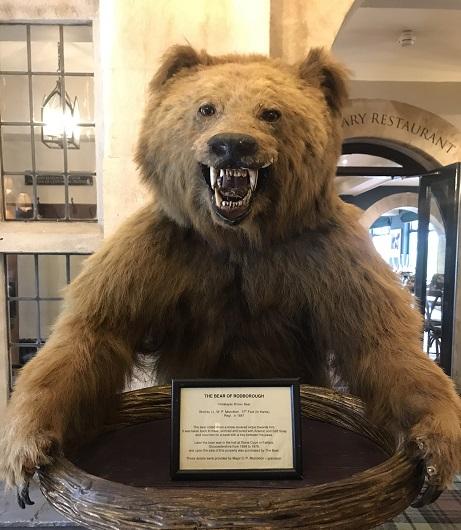 The original Bear of Rodborough