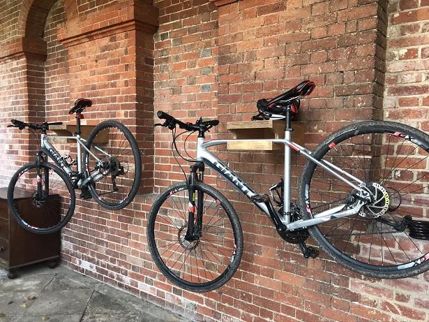 Lainston House hotel Winchester bikes