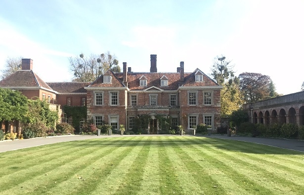 Lainston House hotel entrance
