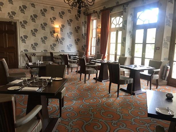 Lainston House hotel restaurant