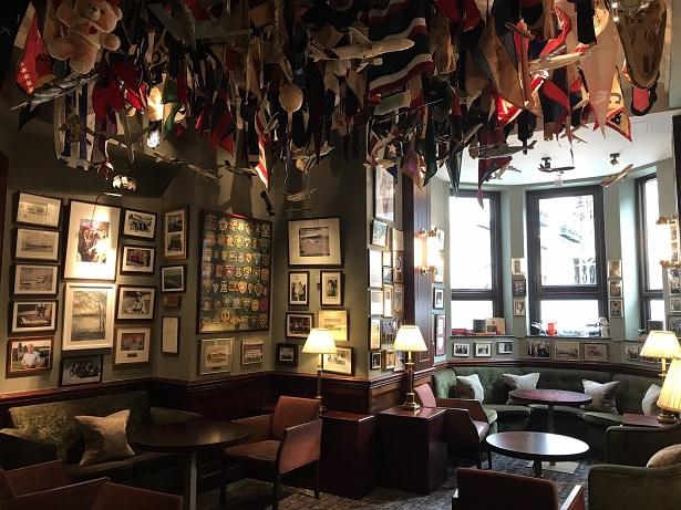 American bar The Stafford hotel