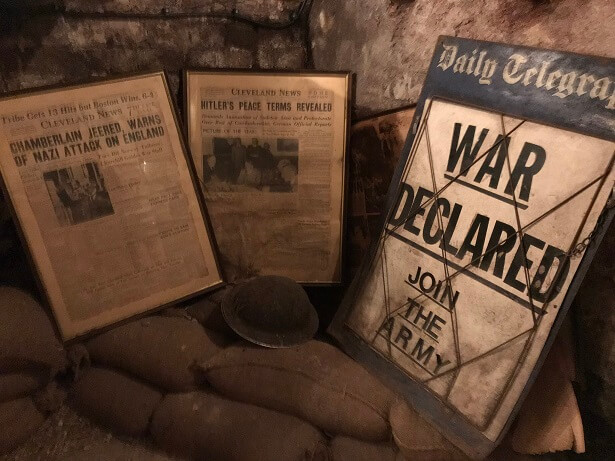 wartime memories at The Stafford