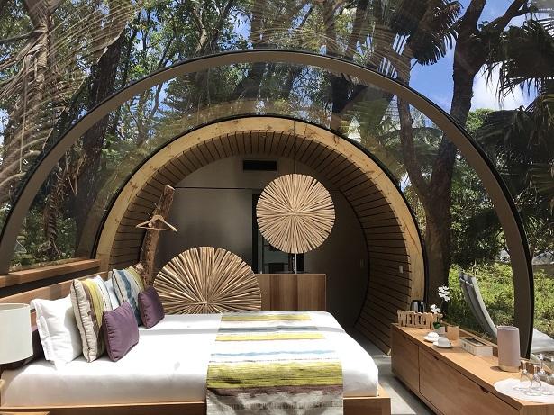 Bois Cheri's luxury Bubble Lodges