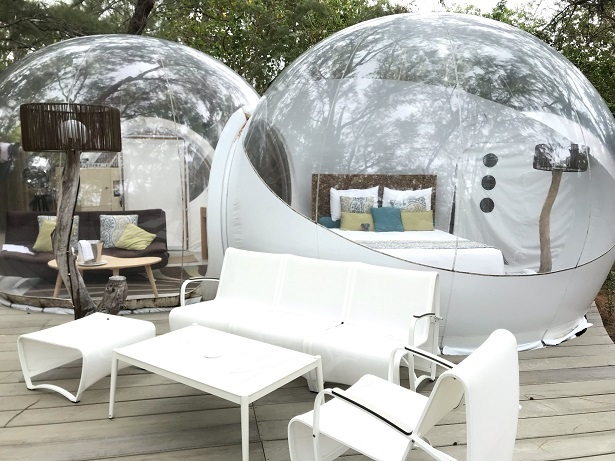 Bubble Lodges