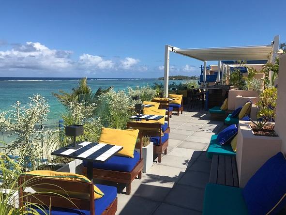 Salt of Palmar hotel Mauritius rooftop bar