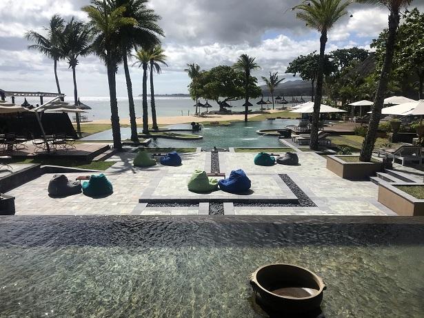 Swimming pool Shanti Maurice Mauritius