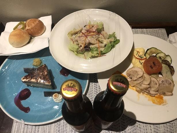 Dinner Trou aux Biches