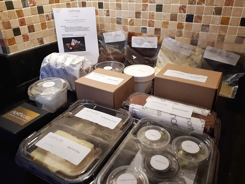 Northcote's Gourmet Box restaurant kit