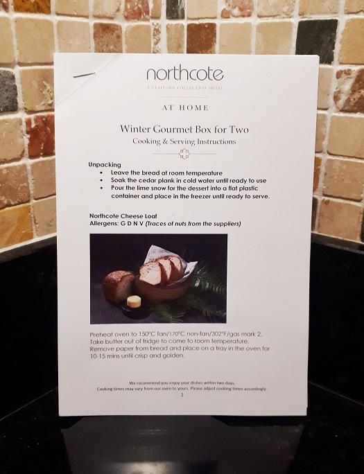 restaurant kit northcote gourmet box