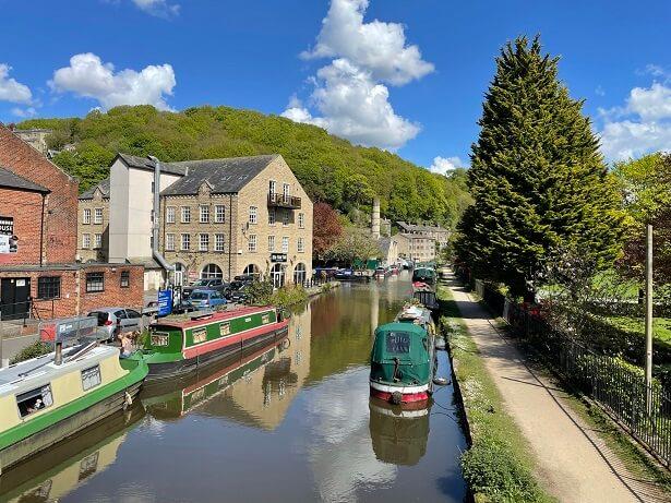 The West Yorkshire town of Hebden Bridge