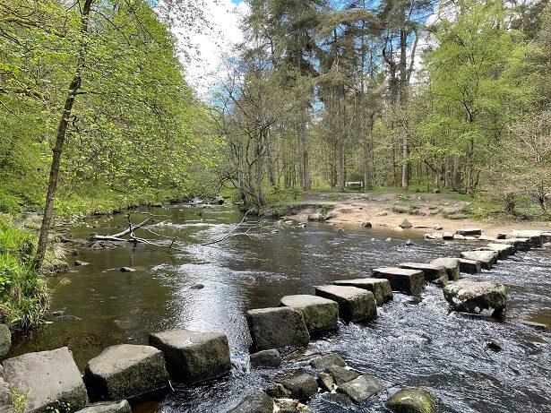 Arvon Foundation writers retreat nearby walks