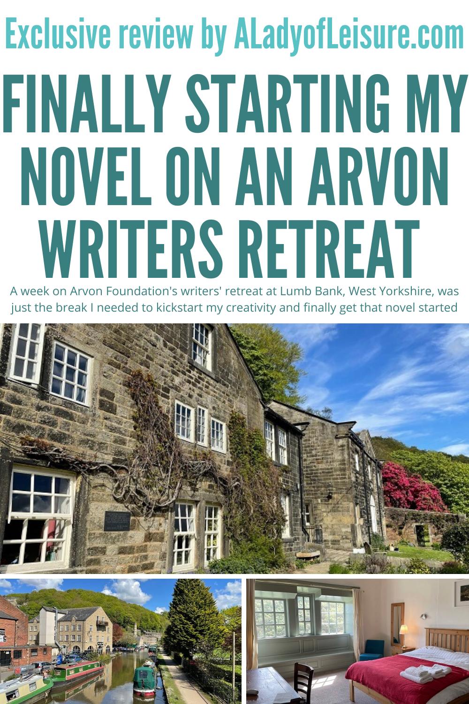 Arvon Foundation writers retreat