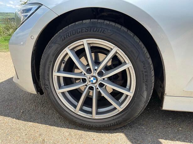 The new Bridgestone Potenza Tyre