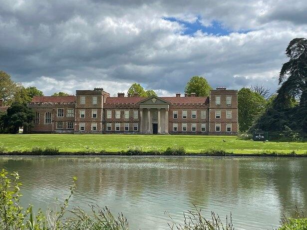 Tudor mansion The Vyne is near Basingstoke